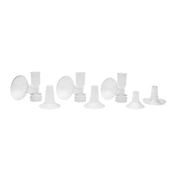 Ameda CustomFit Breast Pump Flanges™ and Inserts; Comfort Fit Angled Flange