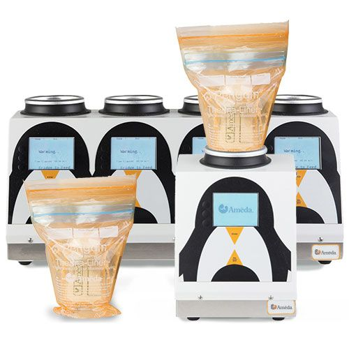 Ameda Deluxe Penguin Nutritional Breast Milk Warmer