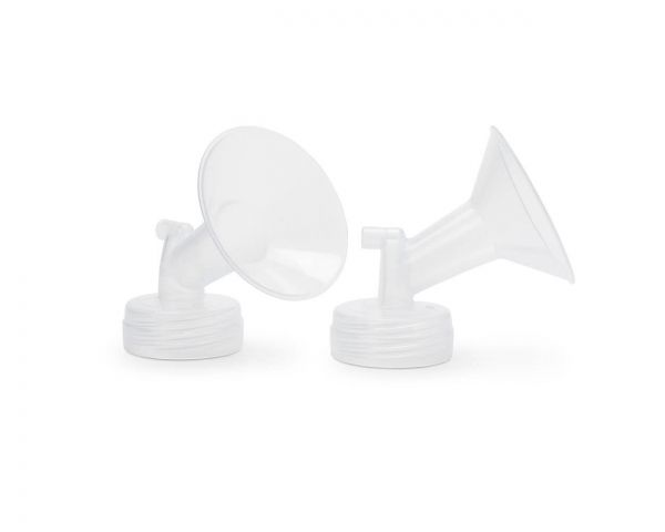 Ameda Mya Comfort Fit Breast Pump Flanges; 2 Count (1 Pair)