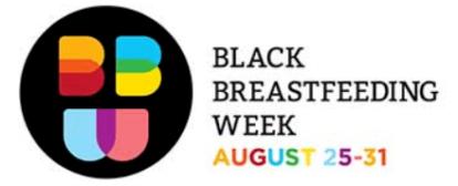 Celebrate Black Breastfeeding Week